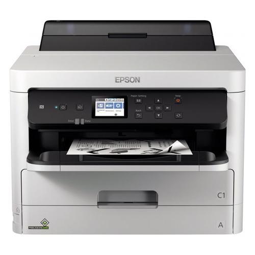 Фото - Принтер струйный EPSON WorkForce Pro WF-M5299DW, черный [c11cg07401] мфу epson workforce pro wf c5790dwf белый серый