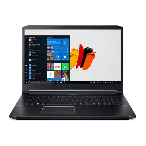 """Ноутбук ACER ConceptD 5 Pro CN517-71P-71HD, 17.3"""", IPS, Intel Core i7 9750H 2.6ГГц, 16ГБ, 1ТБ SSD, NVIDIA Quadro RTX 3000 - 6144 Мб, Windows 10 Professional, NX.C55ER.005, черный"""