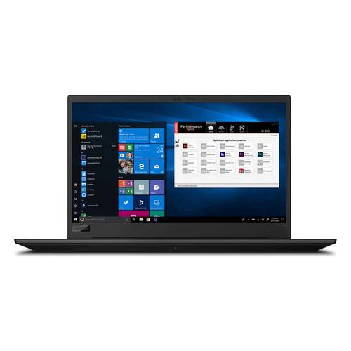 """Ноутбук LENOVO ThinkPad P1 3rd Gen, 15.6"""", IPS, Intel Core i7 10750H 2.6ГГц, 16ГБ, 512ГБ SSD, NVIDIA Quadro T2000 MAX Q - 4096 Мб, Windows 10 Professional, 20TH000URT, черный"""