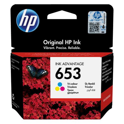 Картридж HP 653, многоцветный [3ym74ae] мфу hp deskjet ink advantage 5275