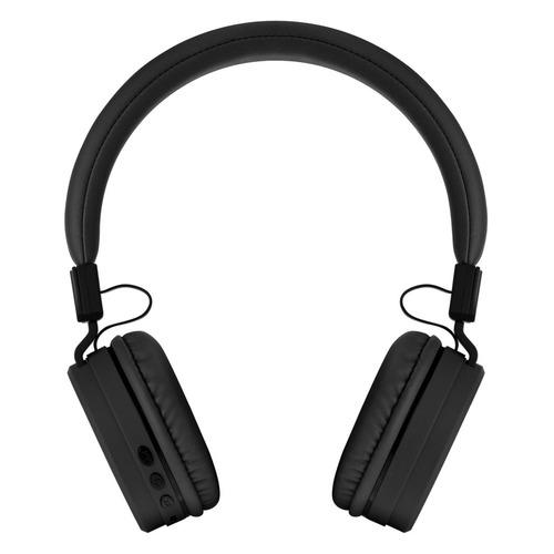 Наушники с микрофоном ROMBICA Mysound BH-11, 3.5 мм/Bluetooth, накладные, черный [bt-h014] беспроводные наушники gal bh 2001 2018 black