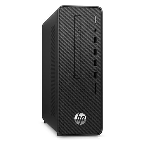 Компьютер HP 290 G3, Intel Core i3 10100, DDR4 4ГБ, 256ГБ(SSD), Intel UHD Graphics 630, DVD-RW, CR, Free DOS, черный [1c7b8ea]