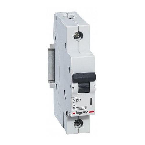Выключатель автоматический Legrand RX3 (419662) 10A тип C 4.5kA 1П 230В 1мод выключатель автоматический schneider electric easy 9 ez9f34110 10a тип c 4 5ka 1п 230в 1мод