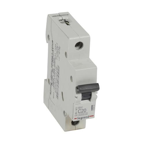 Выключатель автоматический Legrand RX3 (419665) 20A тип C 4.5kA 1П 230В 1мод