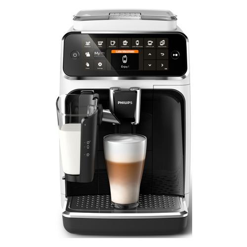 Кофемашина PHILIPS EP4343/50, белый/черный