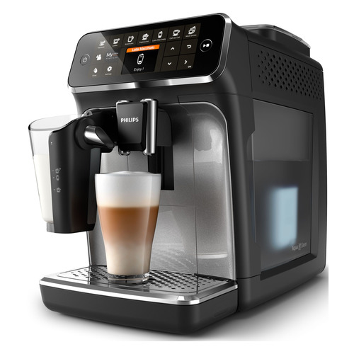 Кофемашина PHILIPS EP4346/70, черный/серебристый