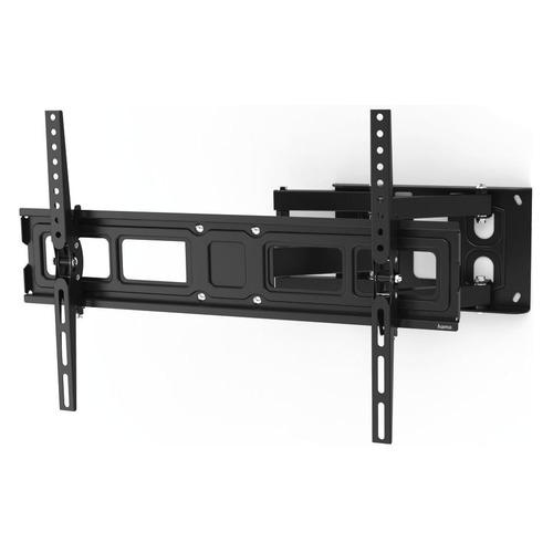 Фото - Кронштейн для телевизора HAMA H-118126, 32-84, настенный, поворот и наклон кронштейн для телевизора hama h 118103 черный 32 65 макс 25кг настенный поворот и наклон