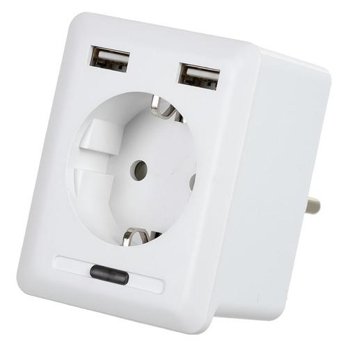 Умная розетка Digma DiPlug 500 EU Wi-Fi белый (TY1910) digma diplug 400 eu ty1932 white