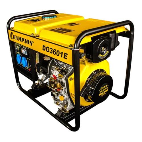 Дизельный генератор CHAMPION DG3601E, 230, 3кВт