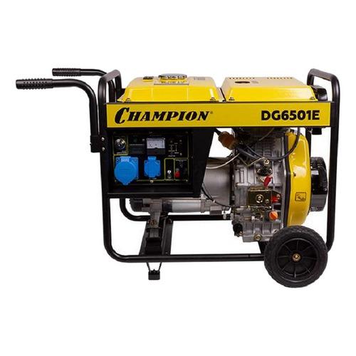 Дизельный генератор CHAMPION DG6501E, 230, 5.5кВт