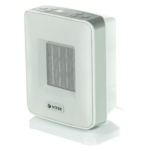 Тепловентилятор Vitek VT-2052, 1500Вт, белый [2052-vt-01]