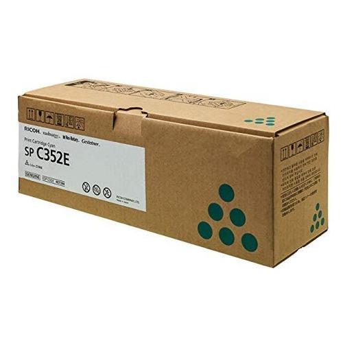 Картридж RICOH SP C352E, голубой [408216] картридж ricoh sp c252e для sp c252dn c252sf голубой 4000стр 407532