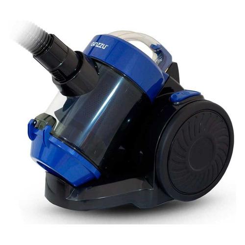 Фото - Пылесос GINZZU VS427, 1500Вт, синий/черный [17542] пылесос ginzzu vs420 черный синий