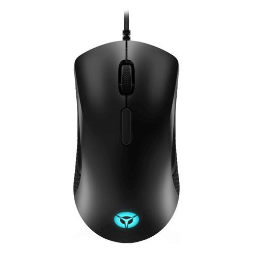 Мышь LENOVO M300 RGB, игровая, оптическая, проводная, USB, черный [gy50x79384]