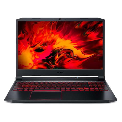 Фото - Ноутбук ACER Nitro 5 AN515-55-78DB, 15.6, IPS, Intel Core i7 10750H 2.6ГГц, 16ГБ, 512ГБ SSD, NVIDIA GeForce GTX 1650 - 4096 Мб, Windows 10, NH.Q7MER.00B, черный ноутбук acer nitro 5 an517 52 77f7 17 3 ips intel core i7 10750h 2 6ггц 8гб 512гб ssd nvidia geforce gtx 1650 ti 4096 мб eshell nh q82er 003 черный