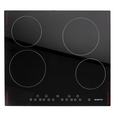 Варочная панель BOSFOR EH 6040 BG, Hi-Light, независимая, черный