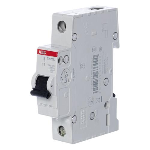 Выключатель автоматический ABB SH201L (2CDS241001R0104) 10A тип C 4.5kA 1П 230/400В 1мод
