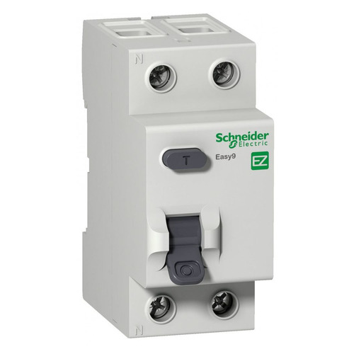 Выключатель дифф. тока Schneider Electric Easy 9 (EZ9R54263) 63A 0.5kA 100мА AC 2П 230В 2мод автоматический выключатель schneider electric easy 9 2п 63a c ez9f34263