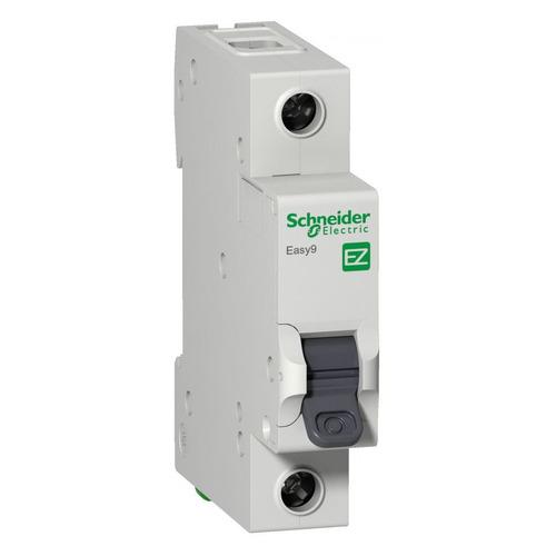 Выключатель автоматический Schneider Electric Easy 9 (EZ9F34106) 6A тип C 4.5kA 1П 230В 1мод автоматический выключатель schneider electric ez9f34306 easy 9 3p 6a c