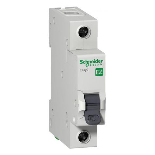 Выключатель автоматический Schneider Electric Easy 9 (EZ9F34110) 10A тип C 4.5kA 1П 230В 1мод автоматический выключатель schneider electric ez9f34210 2p 10a c серия easy 9