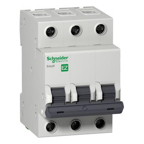 Выключатель автоматический Schneider Electric Easy 9 (EZ9F34332) 32A тип C 4.5kA 3П 400В 3мод выключатель автоматический schneider electric easy 9 ez9f34310 10a тип c 4 5ka 3п 400в 3мод