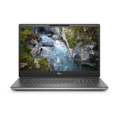 "Ноутбук DELL Precision 7750, 17.3"", Intel Core i9 10885H 2.4ГГц, 16ГБ, 1ТБ SSD, NVIDIA Quadro RTX 3000 - 6144 Мб, Windows 10 Professional, 7750-0279, серый"