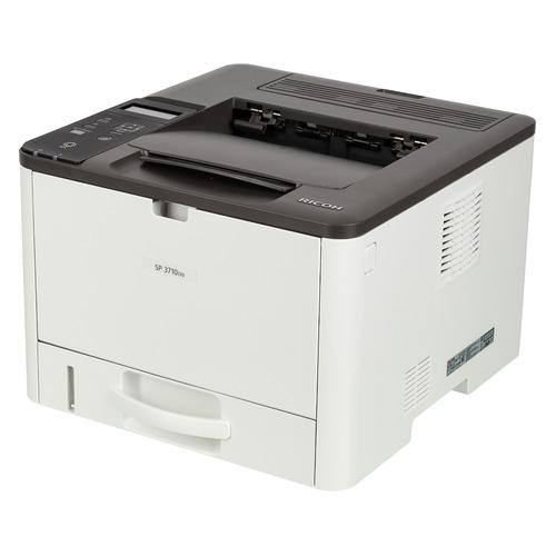 Фото - Принтер лазерный RICOH SP 3710DN лазерный, цвет: серый [408273] принтер ricoh sp 6430dn белый
