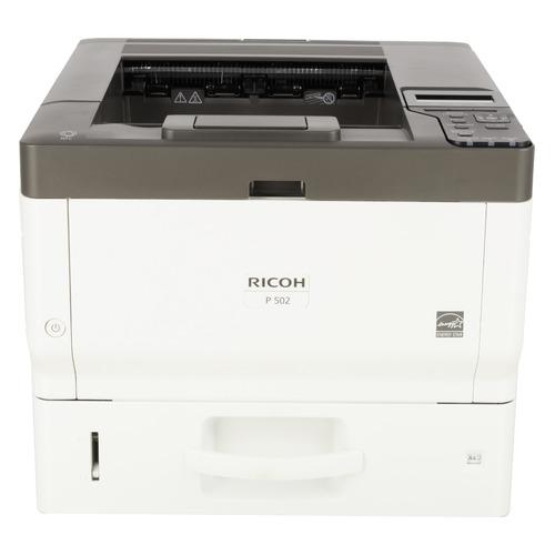 Фото - Принтер лазерный RICOH P 502 светодиодный, цвет: серый [418495] принтер лазерный ricoh sp 6430dn светодиодный цвет серый [407484]