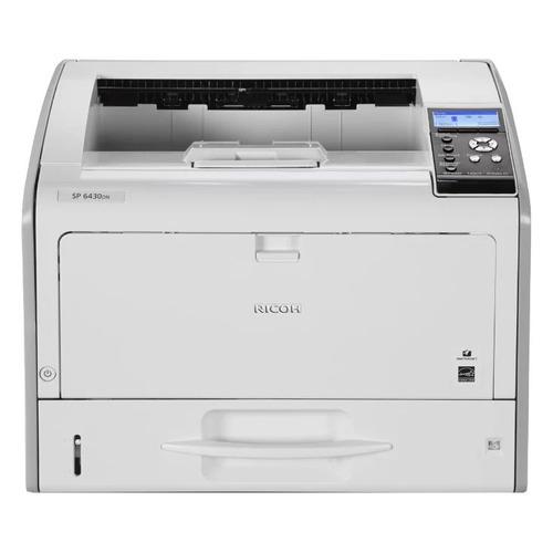 Фото - Принтер лазерный RICOH SP 6430DN светодиодный, цвет: серый [407484] принтер ricoh sp 6430dn белый