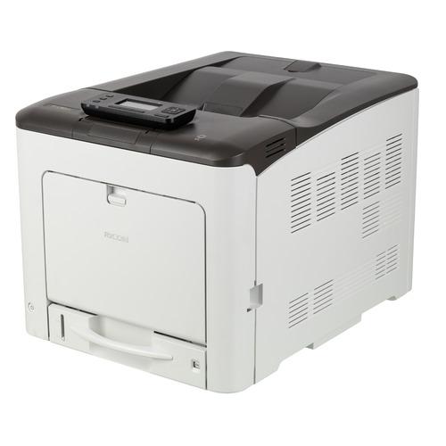 Фото - Принтер лазерный RICOH SP C360DNw светодиодный, цвет: серый [408167] принтер лазерный ricoh sp c261dnw