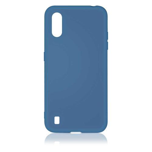 Чехол (клип-кейс) DF sOriginal-15, для Samsung Galaxy M01, синий [df soriginal-15 (blue)] чехол клип кейс df soriginal 16 для samsung galaxy m51 черный [df soriginal 16 black ]