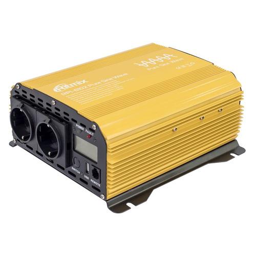 Фото - Преобразователь напряжения RITMIX RPI-6102 Pure sine wave [15119886] инвертор ritmix rpi 6102