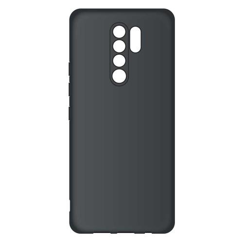 Фото - Чехол (клип-кейс) BORASCO Microfiber case, для Xiaomi Redmi 9, черный [39072] чехол borasco microfiber case для xiaomi redmi 9a черный