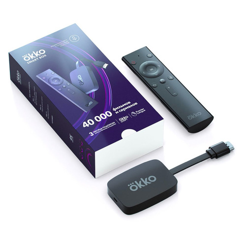 Медиаплеер SBER Okko Smart Box (Модель OKKO-01)
