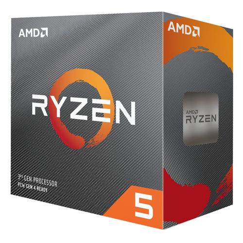 Процессор AMD Ryzen 5 3600XT, SocketAM4, BOX [100-100000281box]