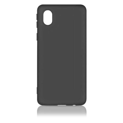 Чехол (клип-кейс) DF sOriginal-18, для Samsung Galaxy A01 Core, черный [df soriginal-18 (black)] чехол клип кейс df soriginal 16 для samsung galaxy m51 черный [df soriginal 16 black ]