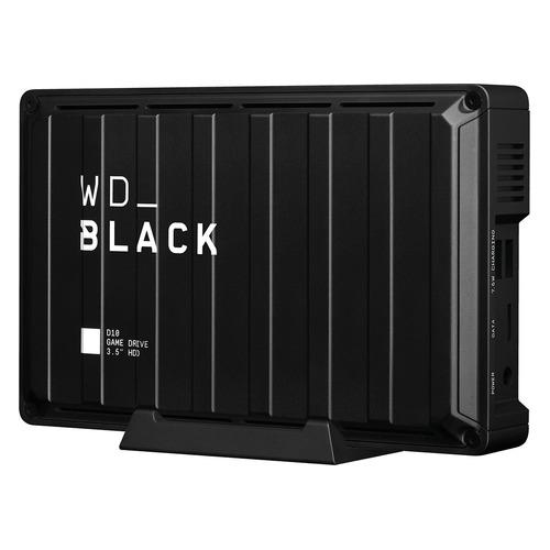 Фото - Внешний жесткий диск WD D10 Game Drive WDBA3P0080HBK-EESN, 8ТБ, черный внешний жесткий диск wd my book wdbbgb0040hbk eesn 4тб черный