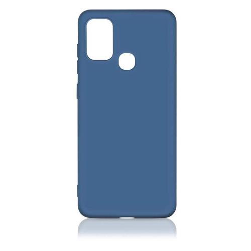 Чехол (клип-кейс) DF sOriginal-16, для Samsung Galaxy M51, синий [df soriginal-16 (blue)] чехол клип кейс df soriginal 16 для samsung galaxy m51 черный [df soriginal 16 black ]