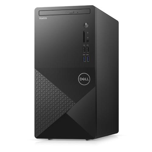 Компьютер DELL Vostro 3888, Intel Core i3 10100, DDR4 8ГБ, 256ГБ(SSD), Intel UHD Graphics 630, DVD-RW, CR, Linux, черный [3888-0057] компьютер dell vostro 3471 intel core i5 9400 ddr4 8гб 256гб ssd intel uhd graphics 630 dvd rw cr ubuntu черный [3471 9157]