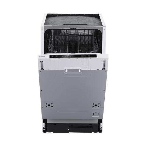 Посудомоечная машина узкая HYUNDAI HBD 450, серебристый