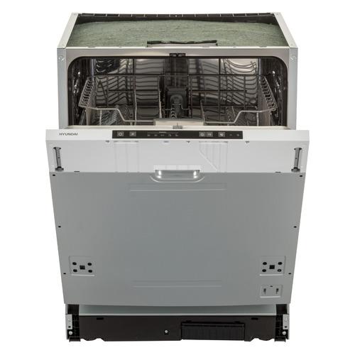 Посудомоечная машина полноразмерная HYUNDAI HBD 650, серебристый
