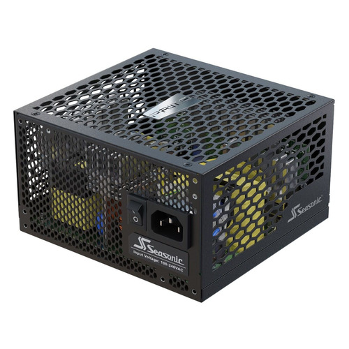 Блок питания SEASONIC PRIME Fanless PX-500, 500Вт, черный, retail [ssr-500pl]