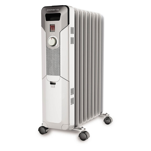 Масляный радиатор BALLU BOH/TB-09FH, 2000Вт, белый [boh/tb- 09fh 2000] BALLU