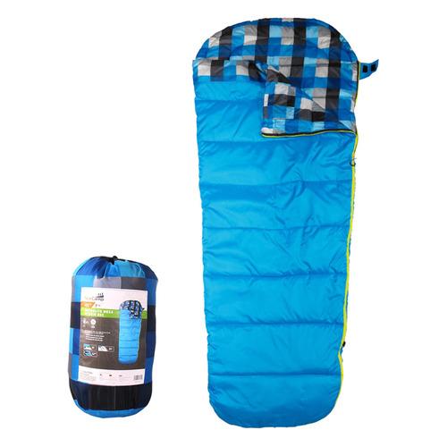 Мешок спальный AceCamp Microlite Mesa прав. кокон дл.:218см синий (3970)