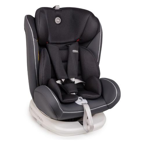Автокресло детское HAPPY BABY Unix, 1/2/3, от 0 до 12 лет, серый группа 0 1 2 3 от 0 до 36 кг happy baby unix с подушкой на ремень сплюшка protectionbaby