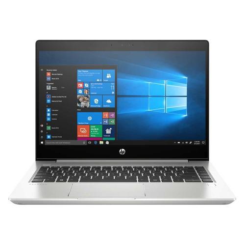 Ноутбук HP ProBook 445R G6, 14, AMD Ryzen 3 3200U 2.6ГГц, 4ГБ, 128ГБ SSD, AMD Radeon Vega 3, Windows 10 Professional, 7DD99EA, серебристый ноутбук hp 14 cm0079ur 14 amd a9 9425 3 1ггц 4гб 128гб ssd amd radeon r5 free dos 6ne22ea черный