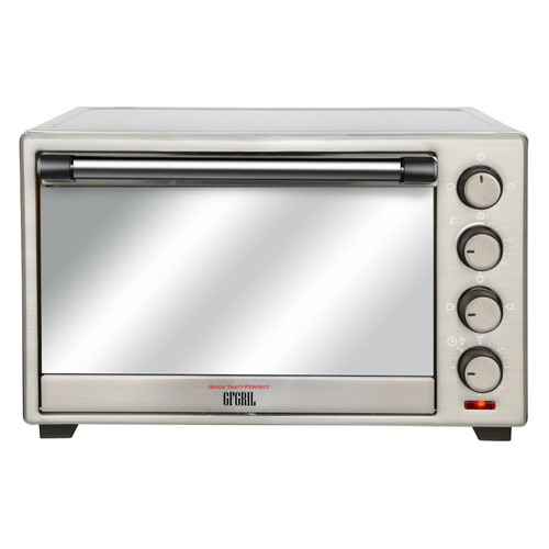 Фото - Мини-печь GFGRIL GFO-39 Mirror, нержавеющая сталь мини печь gfgril gfao 500 коричневый