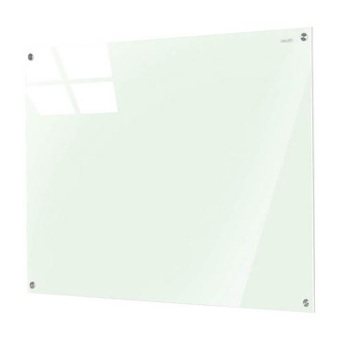 Фото - Доска стеклянная Deli 50040 стеклянная белый 60x45см стекло магнитный 4 магнита/2 маркера/стиратель доска стеклянная cactus cs gbd 90x120 wt стеклянная белый 90x120см стекло