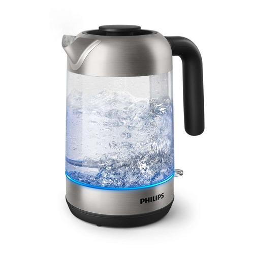 Чайник электрический PHILIPS HD9339/80, 2200Вт, прозрачный