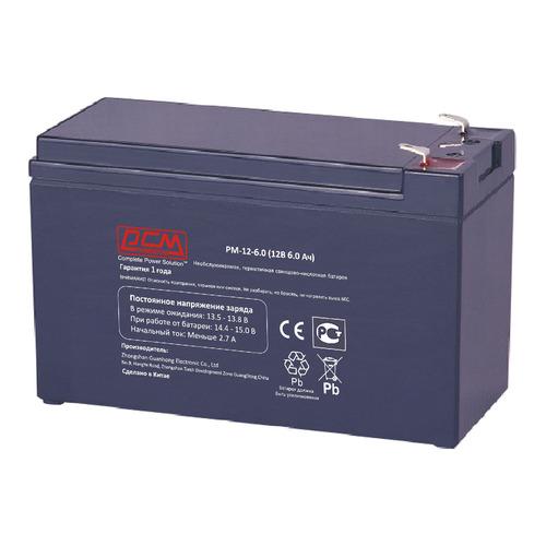 Аккумуляторная батарея для ИБП PowerCom PM-12-6.0 12В, 6Ач